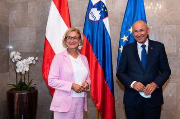 """""""Sodelovanje med Slovenijo in Avstrijo je odlično"""""""