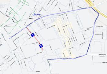 Prenavljamo: delna zapora Kajuhove ulice
