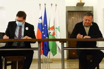 Podpisan aneks k dogovoru med Vlado RS in Mestno občino Ljubljana