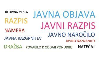 Javni razpis za izbiro projektanta - vrtec Muta