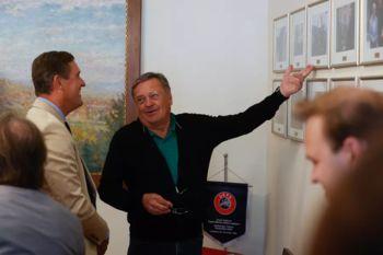Mestni minister Dunaja na obisku v Ljubljani