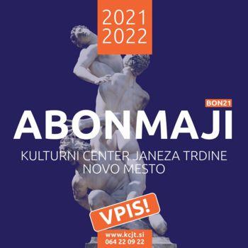 Predstavitev abonmajske sezone KCJT za leto 2021 / 2022