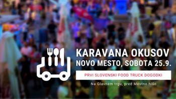 V Novo mesto prihaja Karavana okusov z ulično hrano