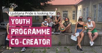 Enoletna priložnost ESE prostovoljstva na Društvu Parada ponosa: podpora mladinskemu programu