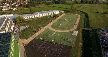 Otvoritev prenovljenega športnega igrišča