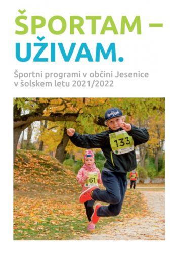 Informator s športnimi programi in vadbami v šolskem letu 2021/2022