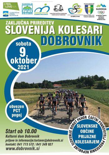 Zaključna prireditev Slovenija kolesari Dobrovnik