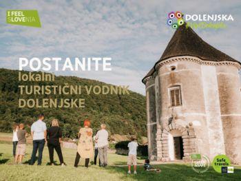 Postanite lokalni turistični vodnik Dolenjske