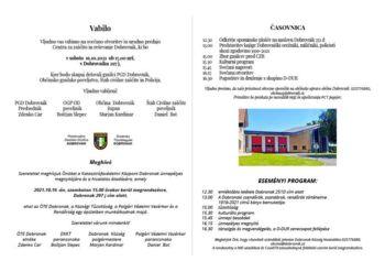 Otvoritev Centra za zaščito in reševanje Dobrovnik-Katasztrófavédelmi Központ Dobronak megnyitója