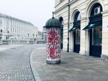Plakatna razstava mladih v Ljubljani
