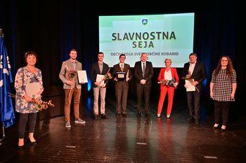 Podelili smo občinske nagrade in priznanja za leto 2021