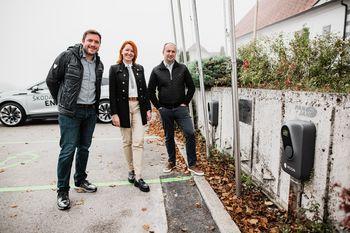 1. župnija v Sloveniji s svojo električno polnilnico