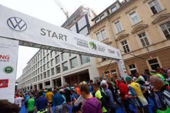 Znova tekaški praznik, jubilejni 25. ljubljanski maraton