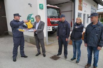 Defibrilatorja tudi v Ljubnem in na Vurnikovem trgu