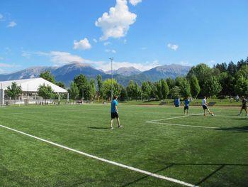 Končana obnova nogometnega igrišča v športnem parku v Radovljici