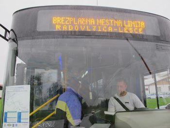 Vožnja z mestnim avtobusom