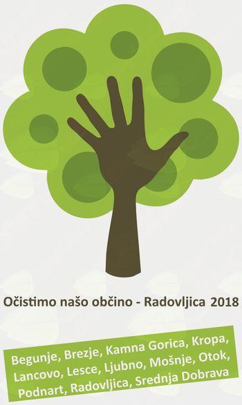 Očistimo našo občino – Radovljica 2018