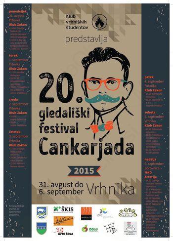 20. gledališki festival CANKARJADA