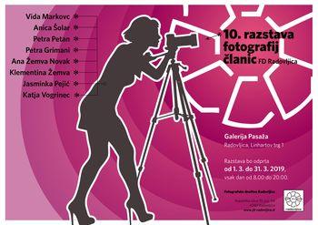 """""""Marec"""", 10. fotografska razstava fotografinj FD Radovljica"""