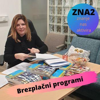 Pričetki programov ZNA2 v januarju 2021