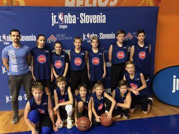 VRANI Vransko blesteli na Junior NBA Slovenija