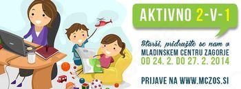 V Mladinskem centru Zagorje aktivnosti za starše in otroke