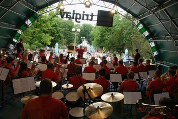 Koncert Godbe Zgornje Savinjske doline na Lentu