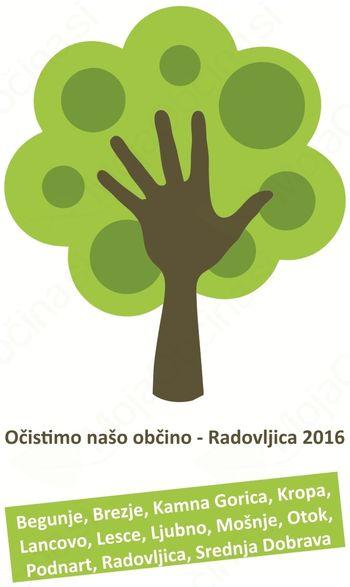 """""""Očistimo našo občino – Radovljica 2016"""""""