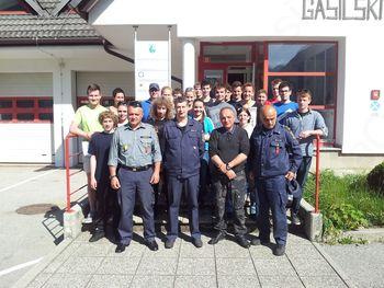 V Bovcu izpeljali tečaj za gasilca