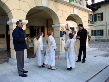 Sv. Miklavž obiskal občino