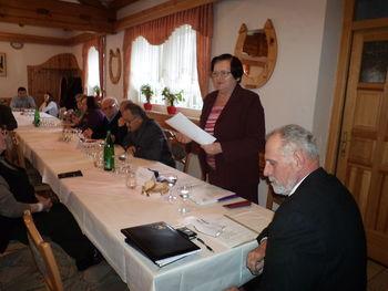 Volilni zbor Aktiva invalidov Podgorje pri Slovenj Gradcu