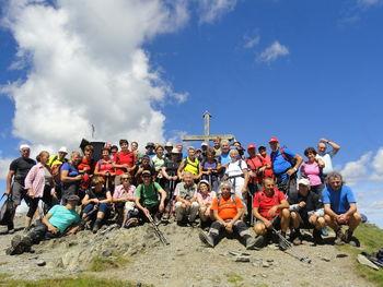 Ajdovski planinci v avstrijskih gorah