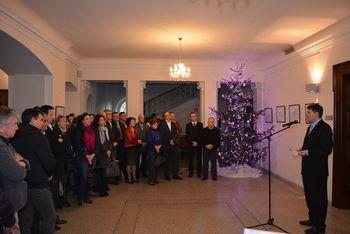 Tradicionalni županov novoletni sprejem