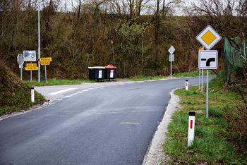 Spremenjena prometna signalizacija križišča Peščenik
