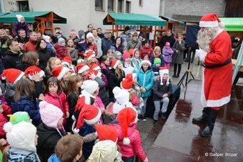 Božično novoletni sejem na tržnici v Ivančni Gorici