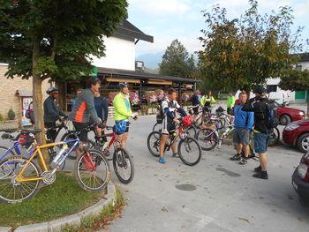 PD Nazarje s kolesi po Dobroveljski planoti
