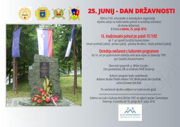 25. junij - DAN DRŽAVNOSTI