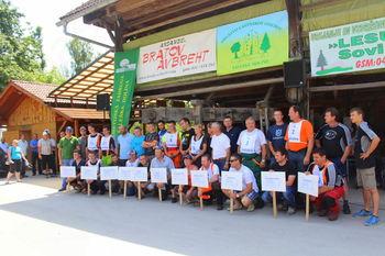 Gozdarsko tekmovanje lastnikov gozdov GGO Nazarje