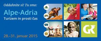 Sejem Alpe-Adria letos predstavlja aktivni turizem