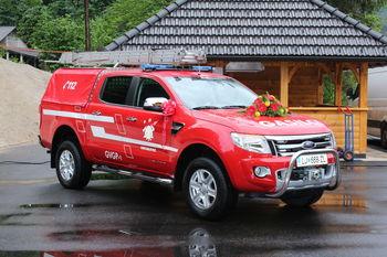 Novo gasilsko vozilo v Vintarjevcu