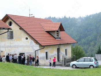 Nova streha na Javorskem župnišču