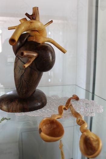 Razstava lesenih izdelkov Marka Martinuča
