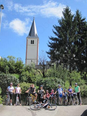 Kolesarski izlet članov ŠKD Bregar