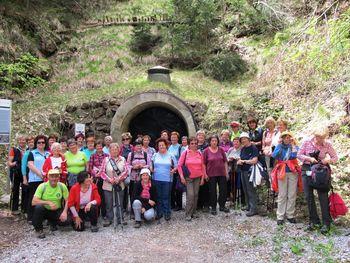 Vandrovke prehodile pot od Smrečja Lavrovec in Goli vrh