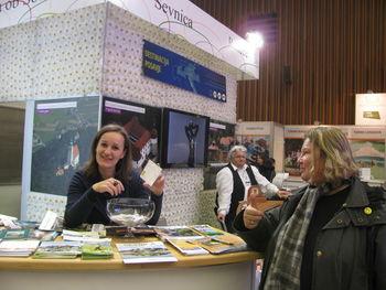 ŽREBANJE NAGRADNE KARTICE VESELJA  na SEJMU Alpe-Adria 2015 v LJUBLJANI