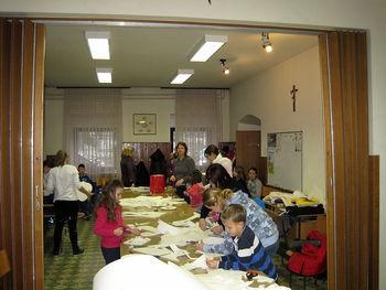 Intenzivne priprave otroškega pevskega zbora z Brda