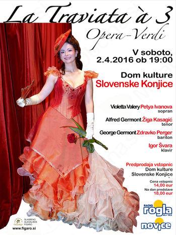 """Operna predstava """"La Traviata a3"""""""