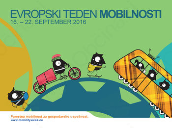 Evropski teden mobilnosti se poslavlja z Dnevom brez avtomobila