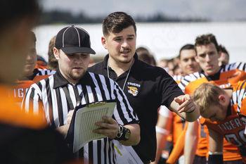 MATIC PIRNAT – Glavni trener domžalske ekipe ameriškega nogometa