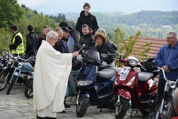 Blagoslov motorjev v Šentjoštu